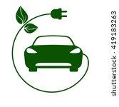 electric car  bio fuel  eco...   Shutterstock .eps vector #419183263