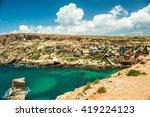 mellieha  malta   23 may 2015 ... | Shutterstock . vector #419224123