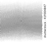 vector halftone dots. black... | Shutterstock .eps vector #419304847
