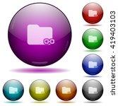 set of color linked folder...