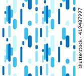 blue flat lines pattern. vector ... | Shutterstock .eps vector #419487997