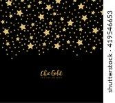 modern chic gold star shape...   Shutterstock .eps vector #419546653