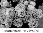 Black And White Roses...