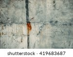 peeled worn wall surface.... | Shutterstock . vector #419683687