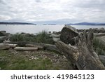 Landscape Of English Bay In...