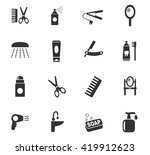 personal care web icons for... | Shutterstock .eps vector #419912623