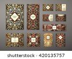 big templates set. business... | Shutterstock .eps vector #420135757