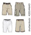 shorts templates for cargo golf ...