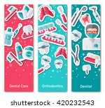set of vertical banners about...