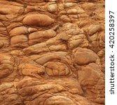 Small photo of Volcanic rock found near Akaroa, Banks Peninsula. New Zealand.