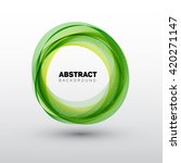 abstract shape circles... | Shutterstock .eps vector #420271147