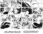set of abstract backgrounds.... | Shutterstock .eps vector #420359047