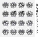ramen icon  japanese noodle     ...   Shutterstock .eps vector #420376057