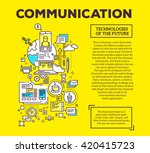 vector concept illustration of...   Shutterstock .eps vector #420415723