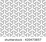 vector seamless pattern  y... | Shutterstock .eps vector #420473857