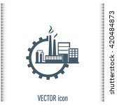 industrial icon | Shutterstock .eps vector #420484873