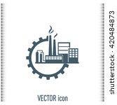 industrial icon | Shutterstock .eps vector #420484873