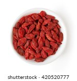 Bowl Of Dried Goji Berries...