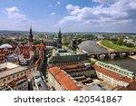 dresden  germany. panoramic... | Shutterstock . vector #420541867