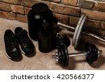 different sports equipment  | Shutterstock . vector #420566377