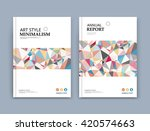 abstract composition  patch...   Shutterstock .eps vector #420574663