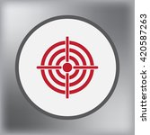 target icon  vector...
