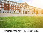hall building in college | Shutterstock . vector #420604933
