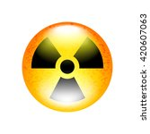 Radioactive Symbol Isolated On...