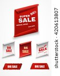 big sale banner.super sale.... | Shutterstock .eps vector #420613807