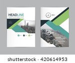 layout design template vector ... | Shutterstock .eps vector #420614953