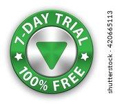 free trial vector metallic...