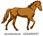 graphic illustration of the... | Shutterstock .eps vector #420690457