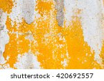 yellow and white abstract | Shutterstock . vector #420692557