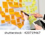 brainstorming brainstorm...   Shutterstock . vector #420719467