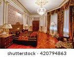 luxurious interiors | Shutterstock . vector #420794863