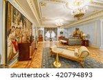 luxurious interiors   Shutterstock . vector #420794893