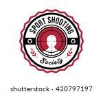 Sports Badge   Shooting Society
