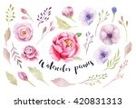 watercolor painting st of... | Shutterstock . vector #420831313