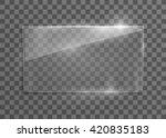 Vector Glass Frame. Isolated O...
