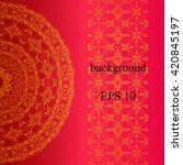 vector background. islam ... | Shutterstock .eps vector #420845197