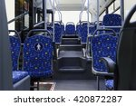 bus inside  city transportation ... | Shutterstock . vector #420872287