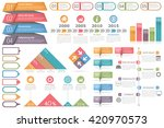 infographic elements set  ... | Shutterstock .eps vector #420970573