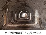 Stone Destroyed  Tunnel In The...