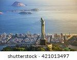 rio de janeiro  brazil  ...   Shutterstock . vector #421013497