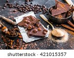 Chocolate With Nuts And Spices...
