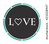 text love simple flat white...