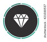 diamond simple flat white...