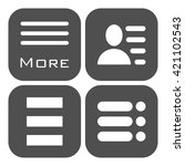 hamburger menu icons set....