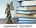 Statue Of Justice  Law Concept...