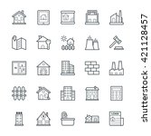 real estate cool vector icons 1 | Shutterstock .eps vector #421128457